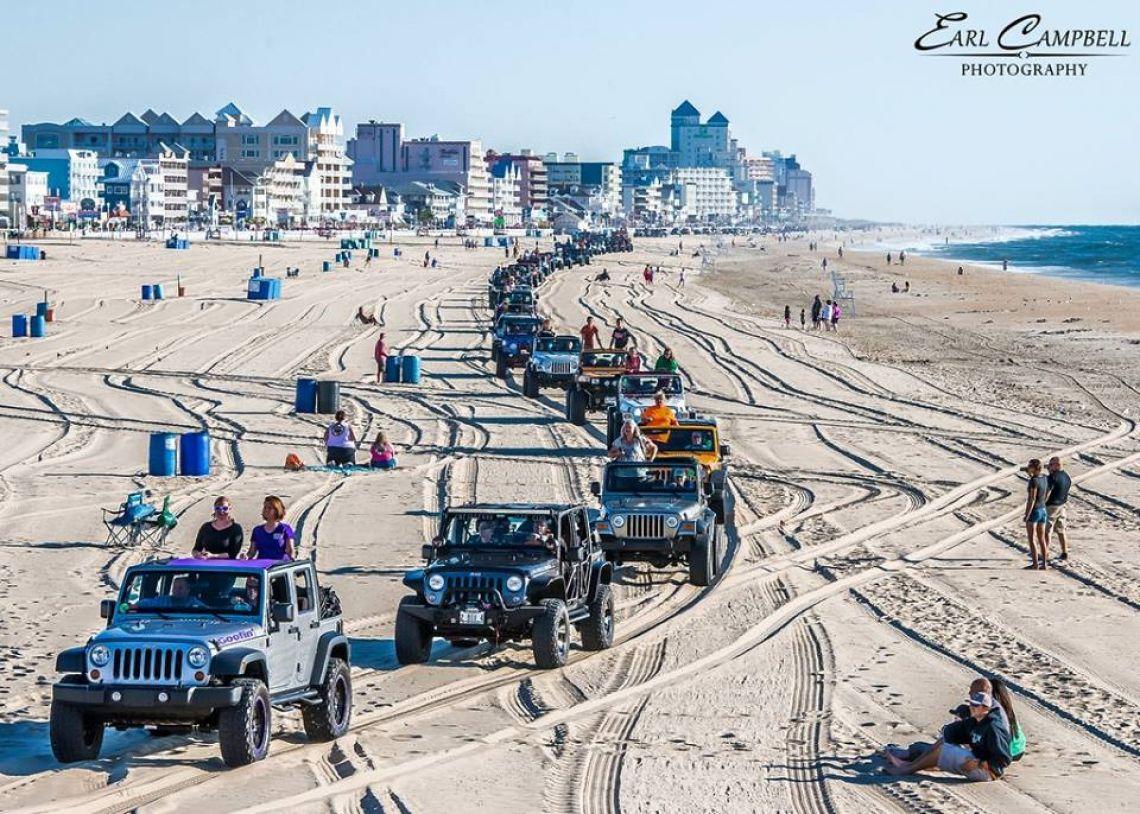 2017 Ocean City Jeep Week Event