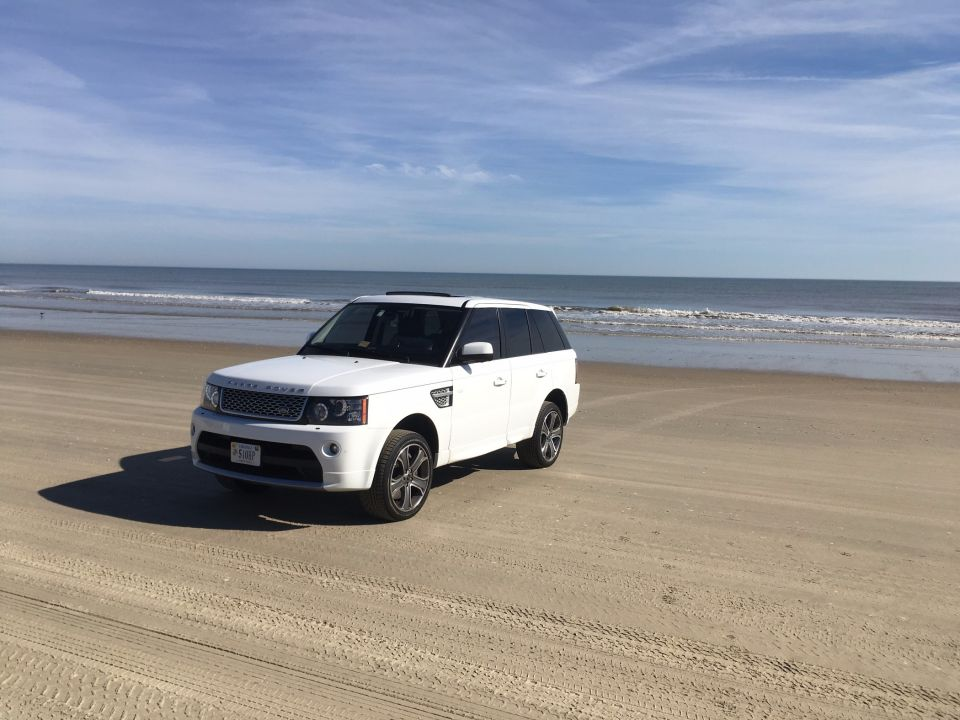 Absolutely gorgeous day at Corolla 4WD Beach!  Lots of Jeeps there today!  Any of you guys see me out there playing around?  :)