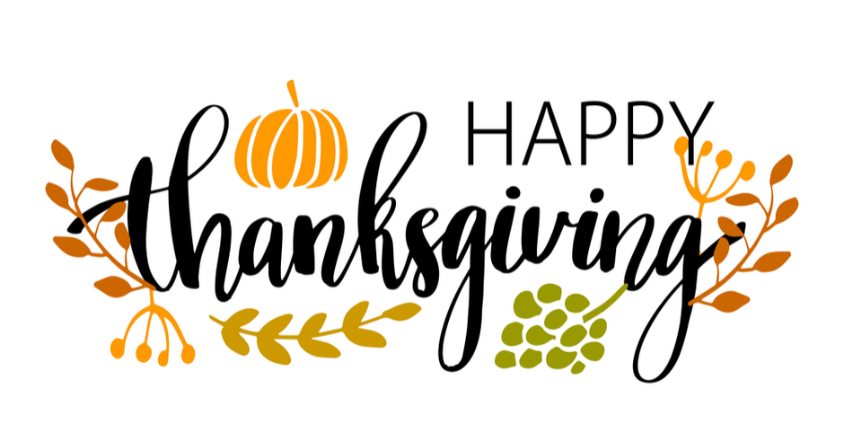 Happy Thanksgiving 🦃 We are very grateful for all our members and supporters and wishing you all a wonderful holiday!