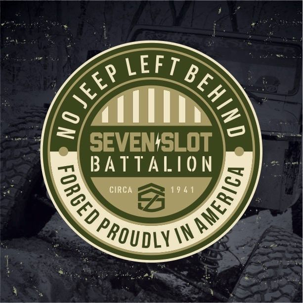 Sweet sticker by Seven Slot Battalion. Would make a neat gift for any Veterans for Veteran's Day. You can find this one and many others on their site https://www.sevenslotbattalion.com/