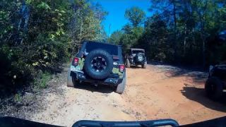 Gulches Trip Oct 2017 Jeep JKU with open diffs